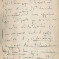 Carnet de Jean Chaput 19-06-1916 page2